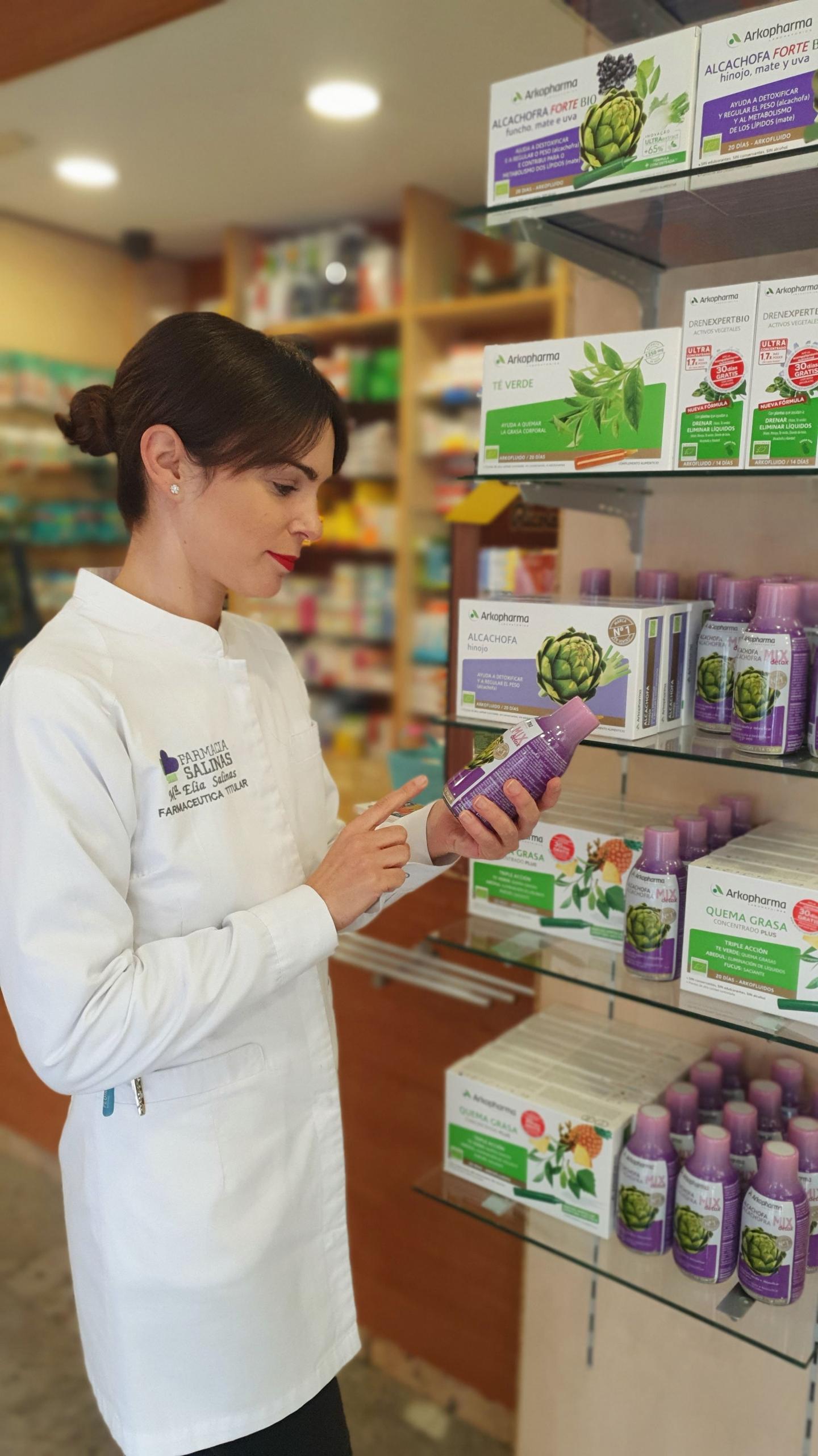 Propiedades de la alcachofa para digestiones pesadas en Farmacia Salinas Elche